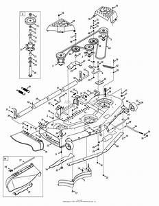 Mtd Gt5024  14aq94kp897   2014   14aq94kp897  2014  Parts Diagram For Mower Deck 54