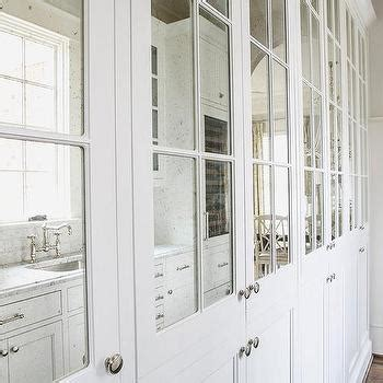 kitchen cabinets with mirrored doors antique mirrored cabinet doors design ideas