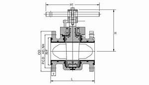 Pfa Lined Plug Valves  Teflon Lined Plug Valve  Fep Lined
