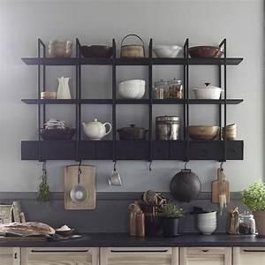 Etagere Cuisine Murale : etagere cuisine murale recherche google d co maison pinterest tag re cuisine cuisine ~ Teatrodelosmanantiales.com Idées de Décoration