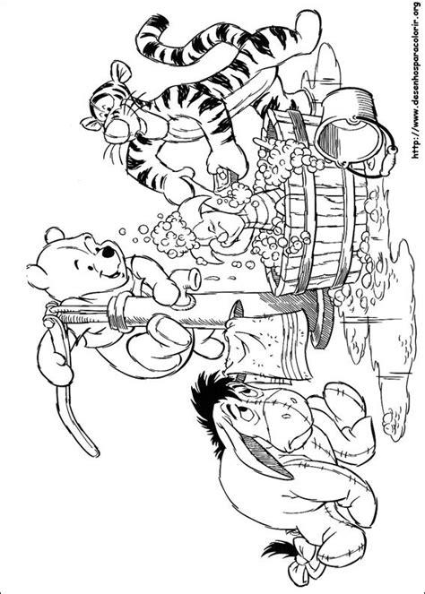 desenhos  colorir ursinho pooh