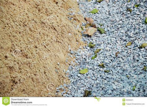sabbia pietra per materiale da costruzione immagine