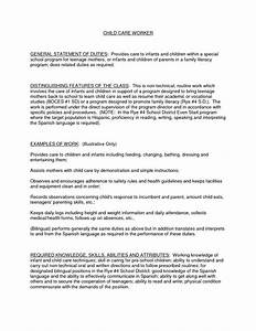 child care duties responsibilities resume resume ideas With childminder cv template