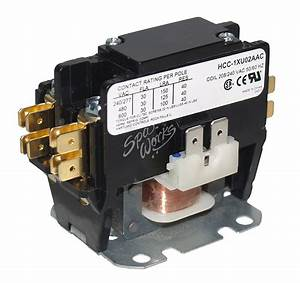 Single Pole Contactor 230 Vac Coil 30 Amp Rated