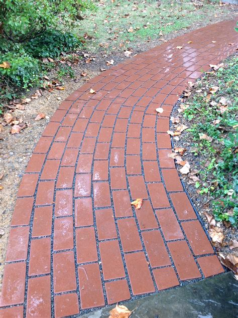 porous brick pavers permeable pavers curb pollution and look great too my green montgomery