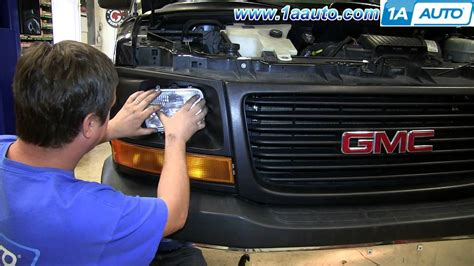 how to replace install halogen sealed beam headlights