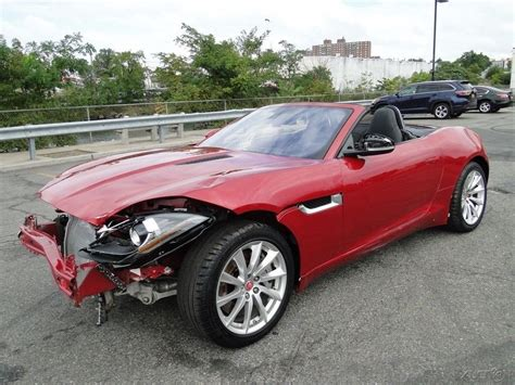 Sports For Sale by Cat 2017 Jaguar F Type Repairable For Sale
