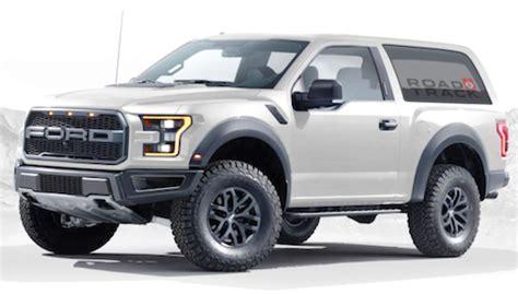 2018 Ford Bronco Raptor Rumors