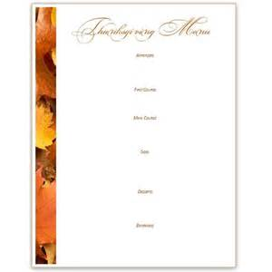 5 thanksgiving or harvest themed printables greeting card banner recipe card menu place cards