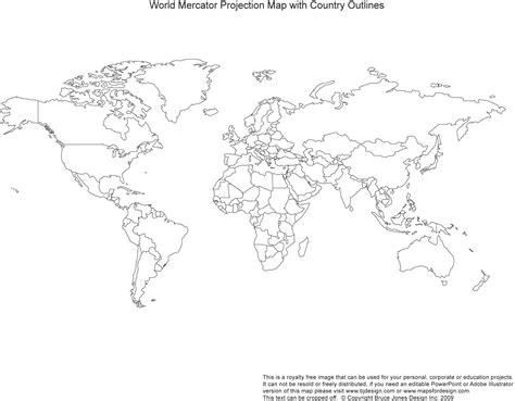 Carte Monde Vierge Vectoriel by Blank Map Vector