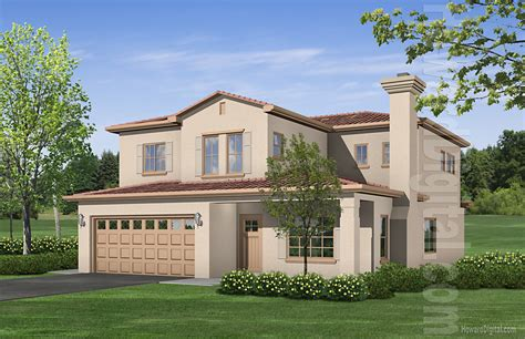 home renderings house illustration valero life group
