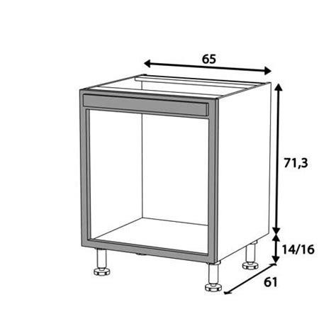 colonne de cuisine pour four et micro onde meuble cuisine four bas 65cm 1 cadre four 65x71 achat vente elements bas meuble cuisine