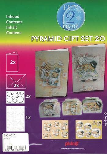 pyramidal photo gift set pyramid gift set 20 huwelijk welkom op de winkel beertje creatief