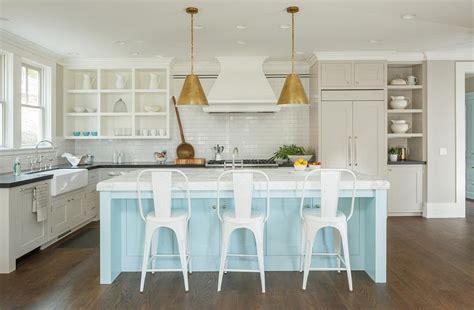light blue kitchen island light blue kitchen island