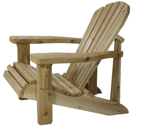 local amish made white cedar heavy duty adirondack muskoka