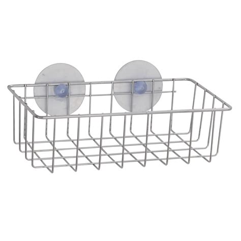Rectangular Shower Basket - exquisite wire basket for the shower rectangular with 2