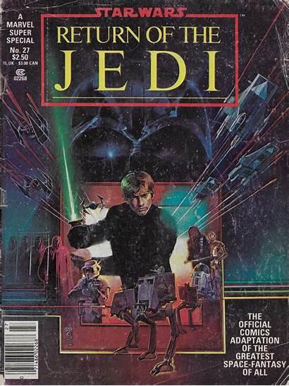 Jedi Return Marvel Bill 1983 Sienkiewicz Comics