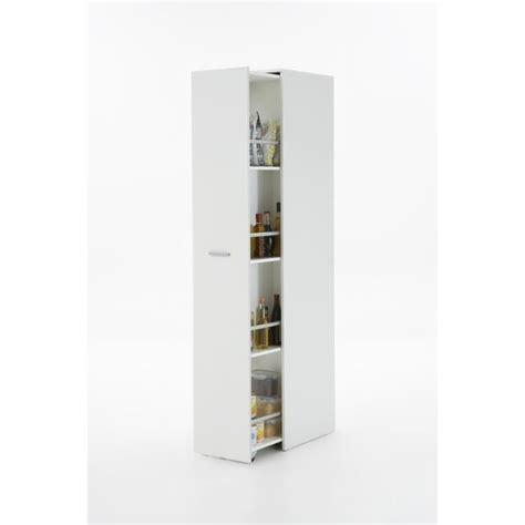 meuble haut cuisine avec porte coulissante ronda meuble à épices 35 cm blanc achat vente