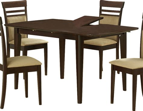 monarch specialties 48 x 36 dining table with 12 inch