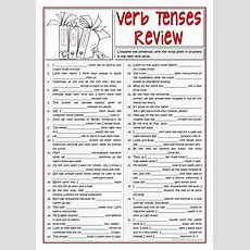 B1 Verb Tenses Review 12 Worksheet  Free Esl Printable Worksheets Made By Teachers