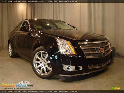 2008 Cadillac Cts Awd by 2008 Cadillac Cts 4 Awd Sedan Black Photo 6