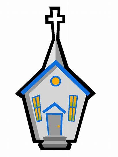 Church Clip Clipart Catholic Library Cliparts Country