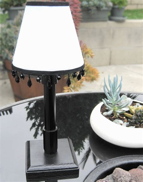 solar patio table lights belize white solar table light
