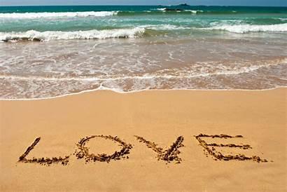 Sand Beach Summer Mood Writing Sea Wallpapers