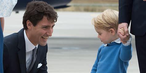 VidÉo  Le Prince George Snobe Le Premier Ministre