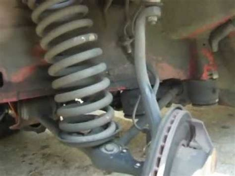 mercedes sd   easily replace front shocks