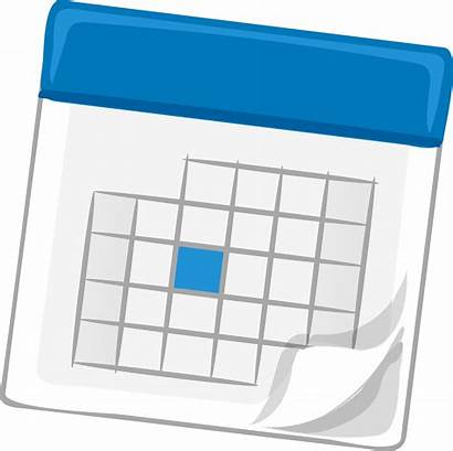 Calendar Clipart Vector Domain Resolution Save 1369