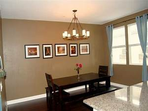 Painting Small Dining Room With Merlot Accent Wall ...