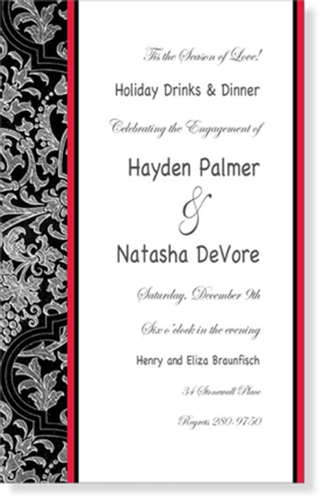 wedding bridal wedding invitations seasonal holiday