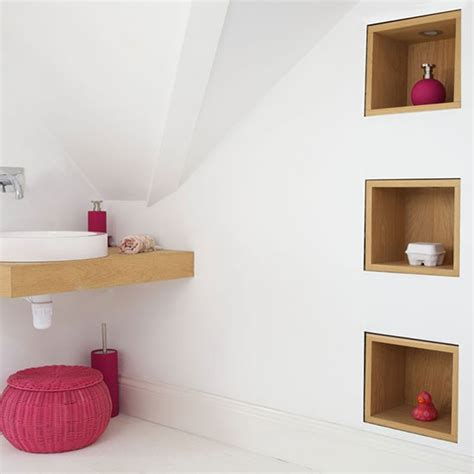 recessed shelving bathroom storage ideas that will