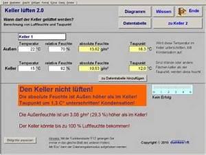 Taupunkt Berechnen Excel : keller l ften 2 1 kostenlos downloaden ~ Themetempest.com Abrechnung