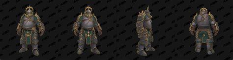 the gentleman pirate heritage armor for kul 39 tiras teased wow
