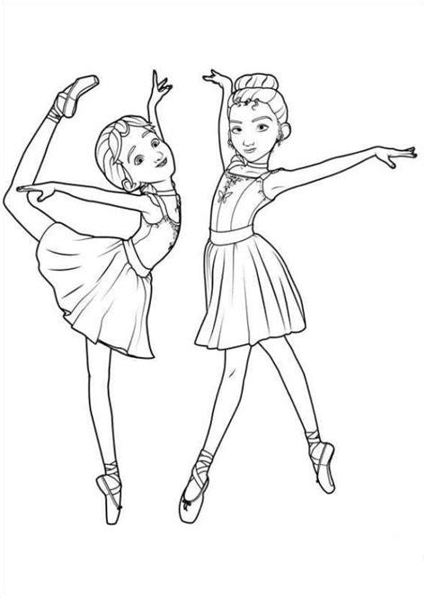 Ballet Kleurplaat by N 14 Kleurplaten Ballerina