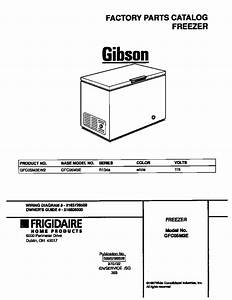 Gibson Freezer Wiring Diagram Parts