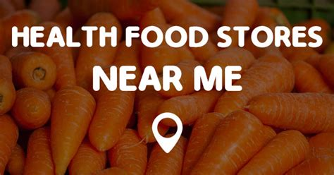 health food stores   points