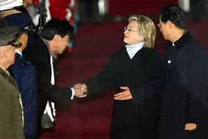U.S. Secretary Of State Hillary Clinton Visits South Korea ...