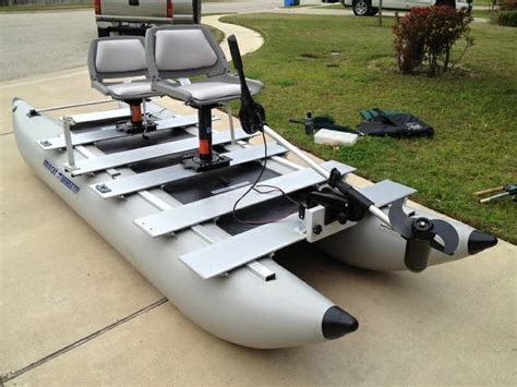 Pontoon Boats For Sale In Zanesville by Sea Eagle 375fc Foldcat 12ft Portable Pontoon