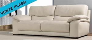 Le canape cuir de la semaine canape show for Tapis design avec canapé mousse haute résilience