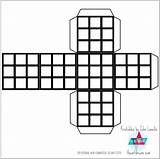 Cube Rubik Printable Template Coloring Paper Printables Own Rubiks Pages Craft Templates P9 Theartdream sketch template