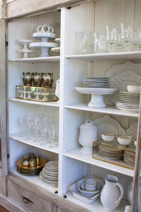 where to put dishes in kitchen cabinets china cabinet essentials and how to style them 2191