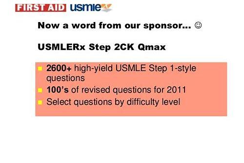 Usmle Rx Step 1