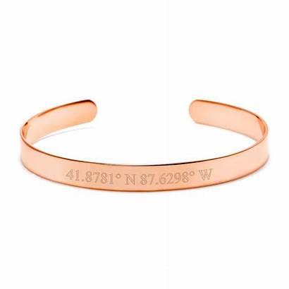 Rose Gold Cuff Bracelet 1000