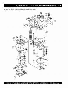 32 Submersible Pump Parts Diagram