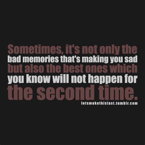 Sad Memory Quotes Tumblr