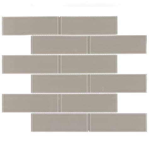 glass tile backsplash pictures for kitchen glass subway tile metropole taupe 2x6 kitchen backsplash