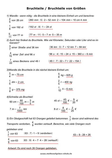 dezimalbrüche klasse 6 mathe arbeitsblätter